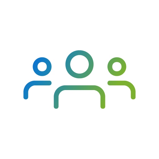 icon of a group of users